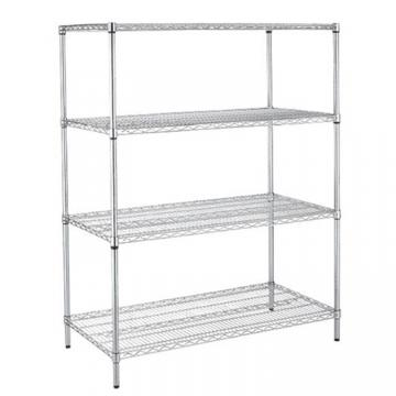 Industrial Wire Rack Shelving for Plastic Storage Bin