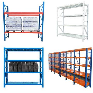 Warehouse Storage Shelves Heavy Duty Teardrop Pallet Rack