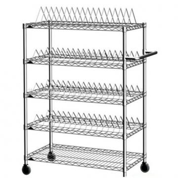 Adjustable Heavy Duty Warehouse Storage Wire Rack Shelving