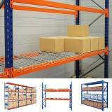 Factory Direct Industrial Pallet Racking Very Narrow Aisle Warehouse Storage