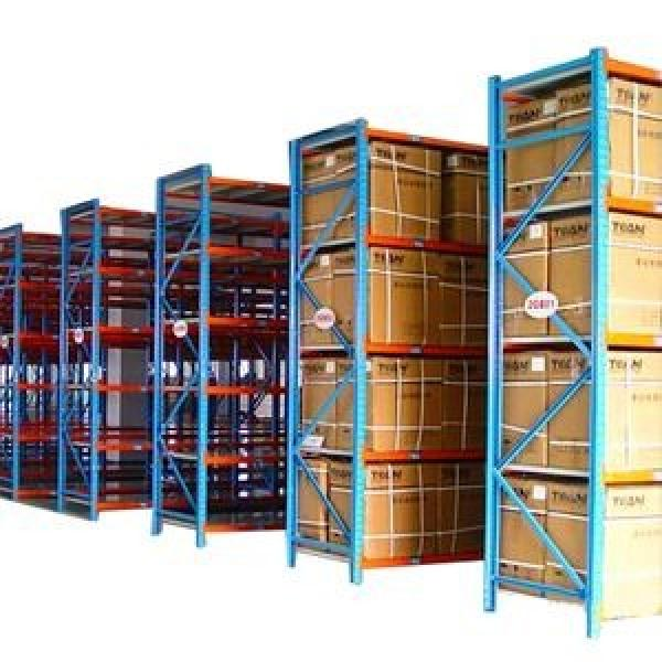 Heavy Display Adjustable Rivet Racksupermarket/Warehouse Steel Metal Shelving #3 image