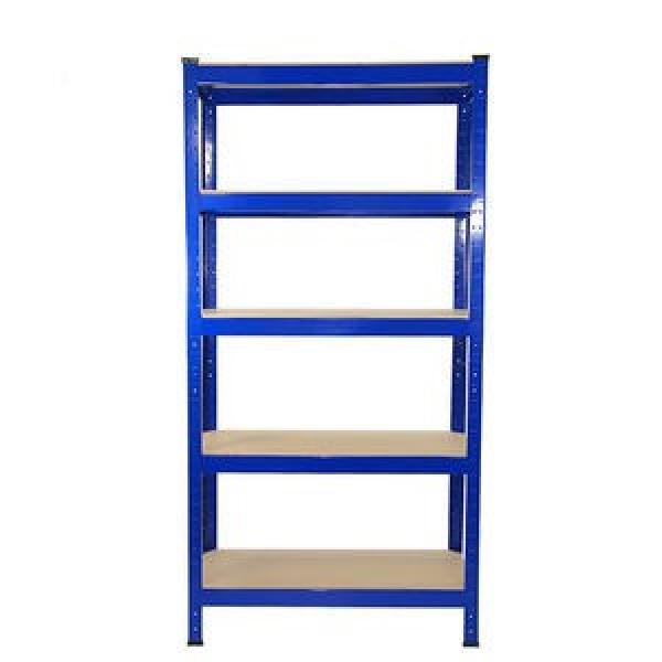 Heavy Display Adjustable Rivet Racksupermarket/Warehouse Steel Metal Shelving #2 image