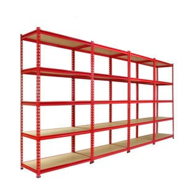 Heavy Display Adjustable Rivet Racksupermarket/Warehouse Steel Metal Shelving #1 image