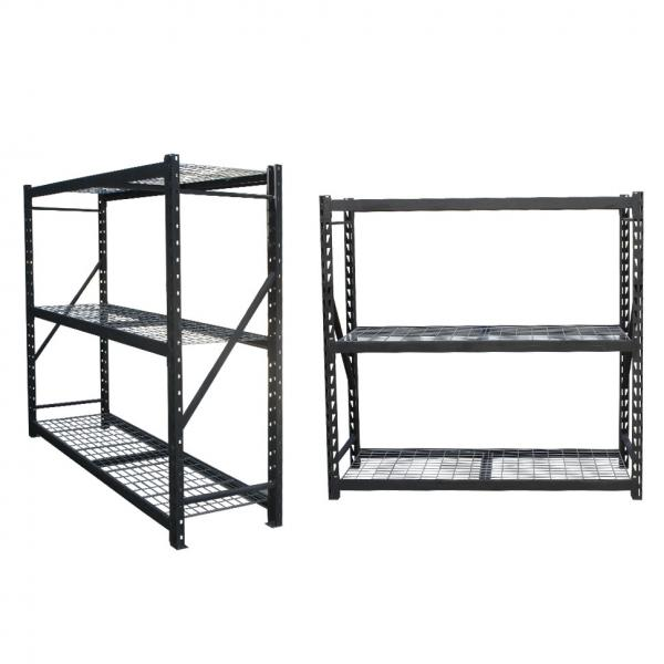 Industrial Wire Rack Shelving for Plastic Storage Bin #3 image