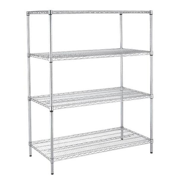 Industrial Wire Rack Shelving for Plastic Storage Bin #1 image