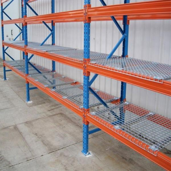 6 Tier Adjustable Industrial Wire Shelving Office Wire Racking Industrial Storage Solutions #1 image