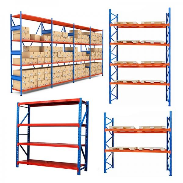 Heavy Duty Factory Mobile Adjustable Nestainer Rack for Industrial Storage #2 image