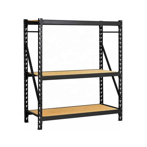 Rolling Heavy Duty 6 Shelf Adjustable Chrome Finish Commercial Wire Shelving Unit with Wheels #2 image