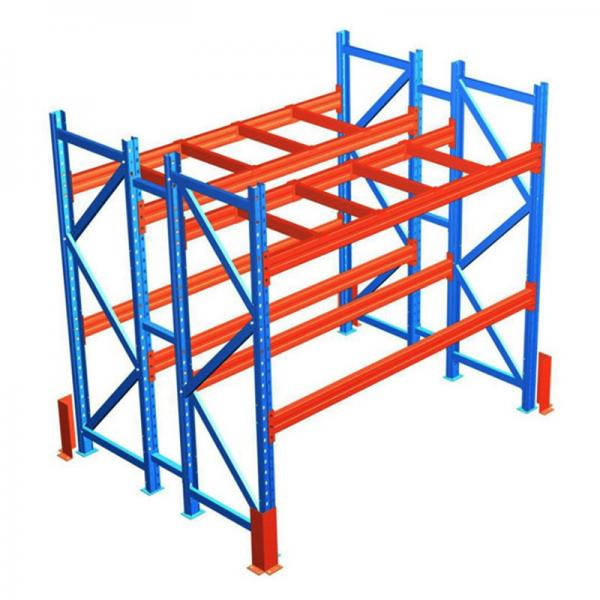 Heavy Duty Factory Mobile Adjustable Nestainer Rack for Industrial Storage #3 image