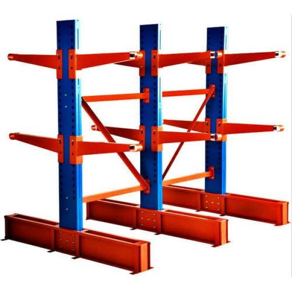 Heavy Duty Factory Mobile Adjustable Nestainer Rack for Industrial Storage #1 image