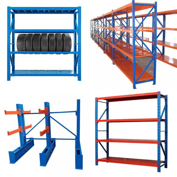 6 Tier Adjustable Industrial Wire Shelving Office Wire Racking Industrial Storage Solutions #2 image