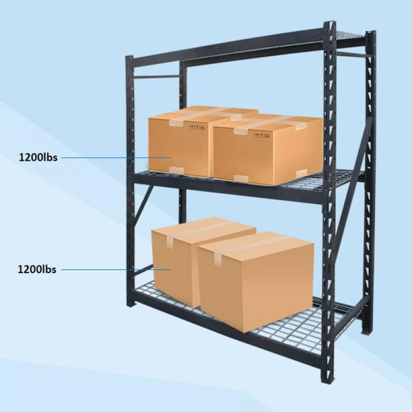 6 Tier Adjustable Industrial Wire Shelving Office Wire Racking Industrial Storage Solutions #3 image