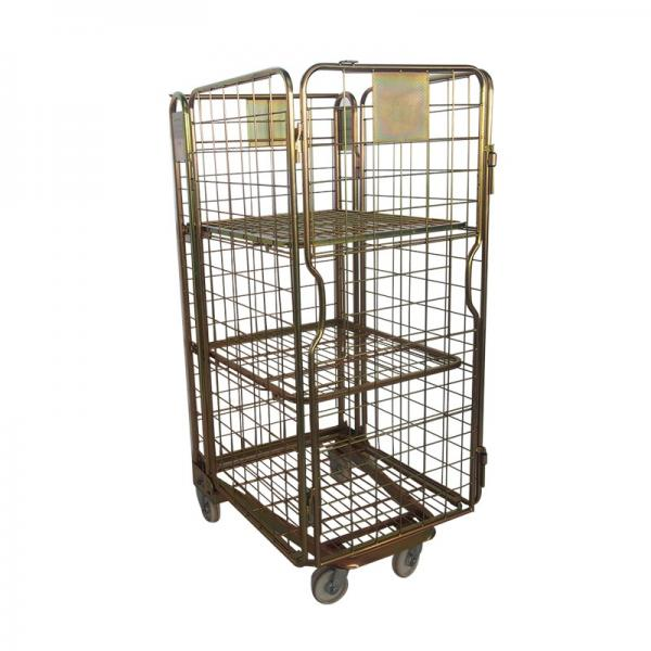 Rolling Adjustable Wire Rack 8 Shelves Bin Storage Black Healthcare Shelving #3 image